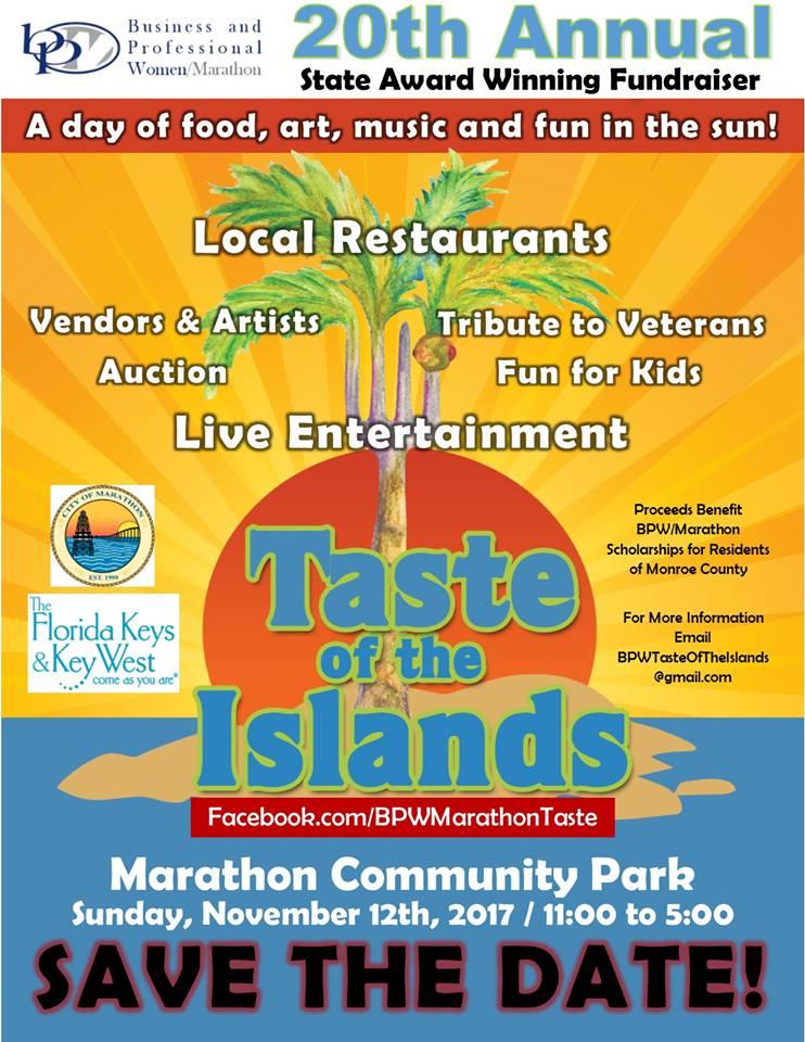Taste Of The Islands  Marathon Fl