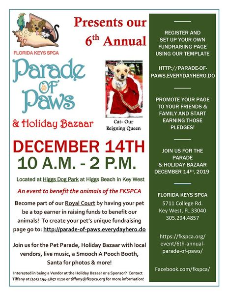 Image for Sixth Annual Parade of Paws and Shopping Bazaar