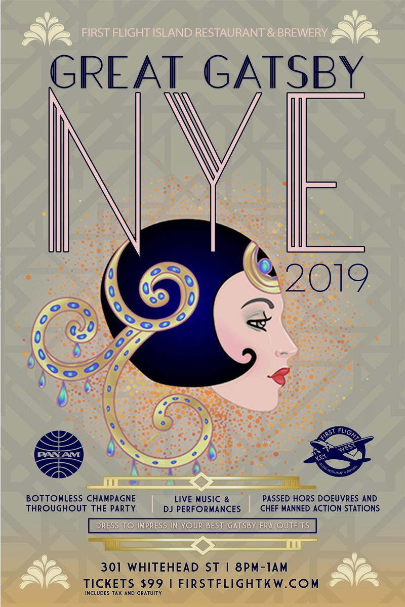 Image for Great Gatsby NYE 2019