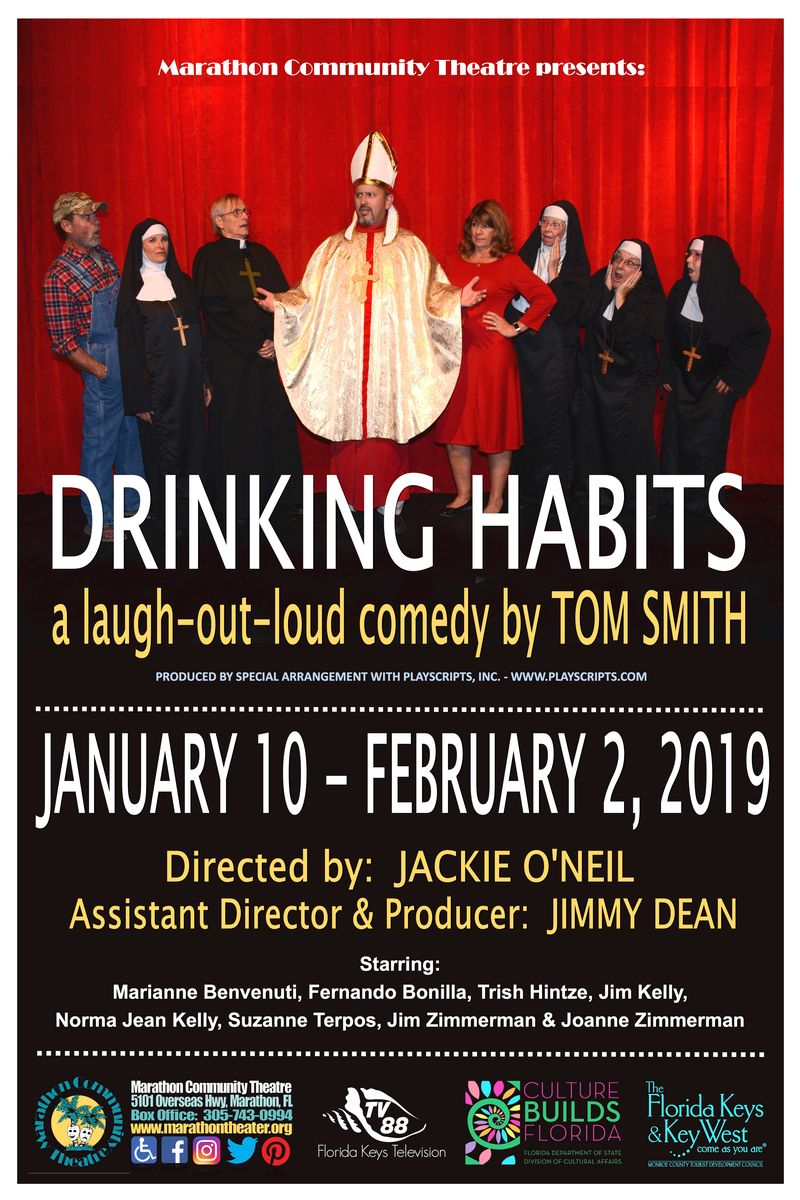 Image for Marathon Community Theater presents: Drinking Habits