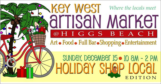 Image for Key West Artisan Market: Holiday Shop Local edition