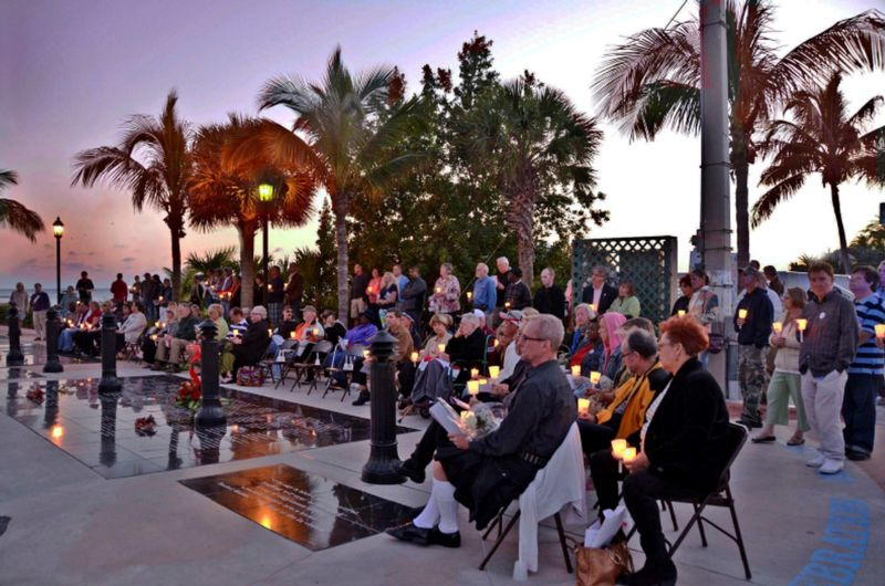 Image for World AIDS Day Service at the Key West AIDS Memorial