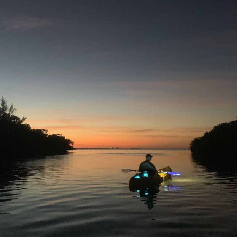 Image for Full 'Cold' Moon Kayak Tour and Adventure