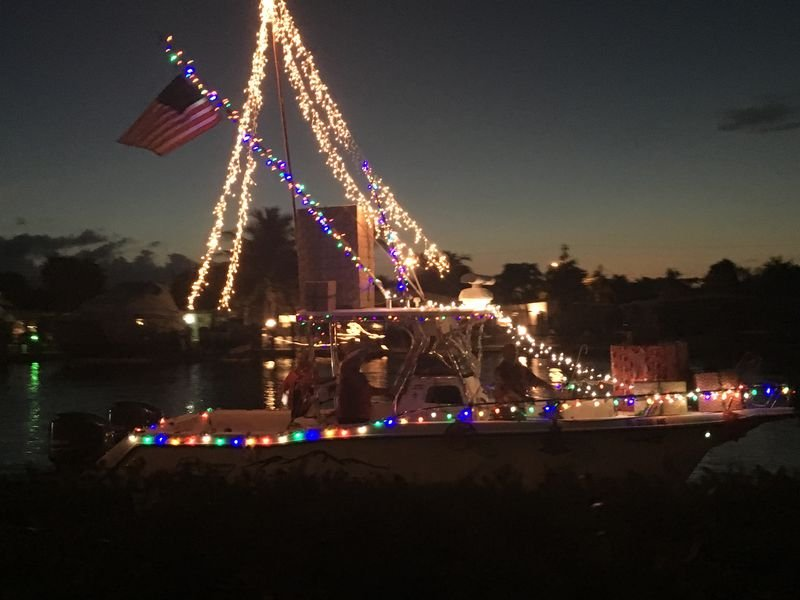 Image for Boot Key Harbor Christmas by the Sea Lighted Boat Parade