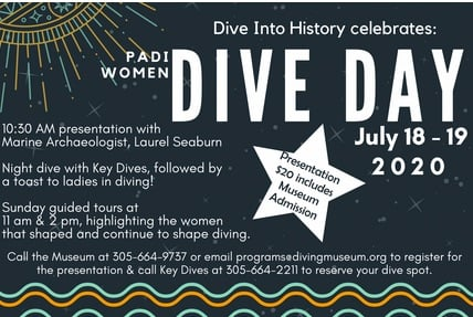 Image for History of Diving Museum Celebrates PADI Women Dive Day