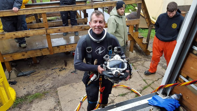 Image for Immerse Yourself: Famed Wreck Diver John Chatterton