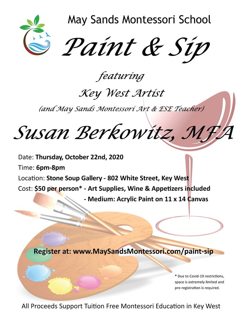 Image for Paint and Sip Evening with a Key West Artist