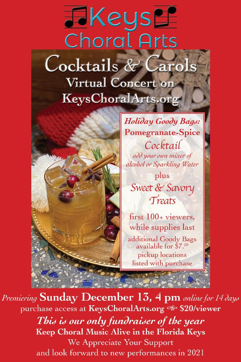 Image for Cocktails and Carols, Key Choral Arts' Virtual Concert
