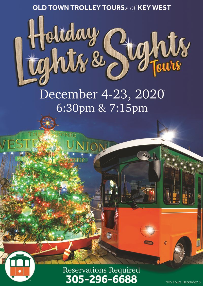 Image for Holiday Lights & Sights Tours with Old Town Trolley Tours