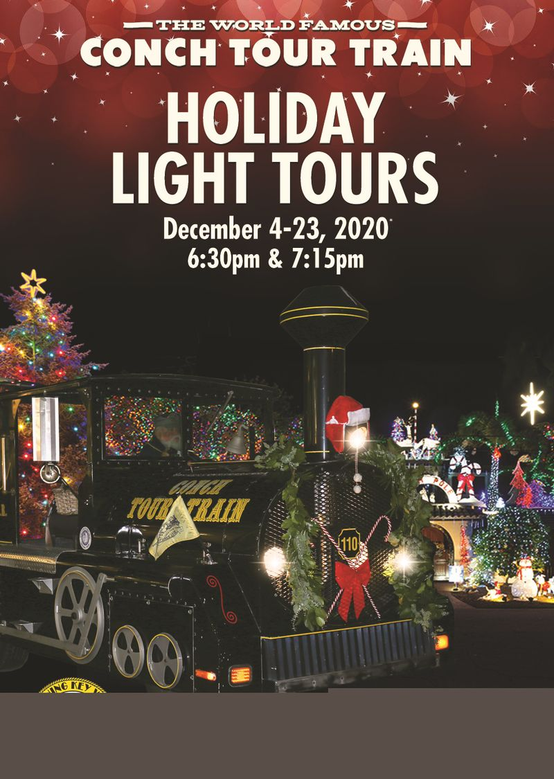 Image for Conch Tour Train Holiday Light Tours
