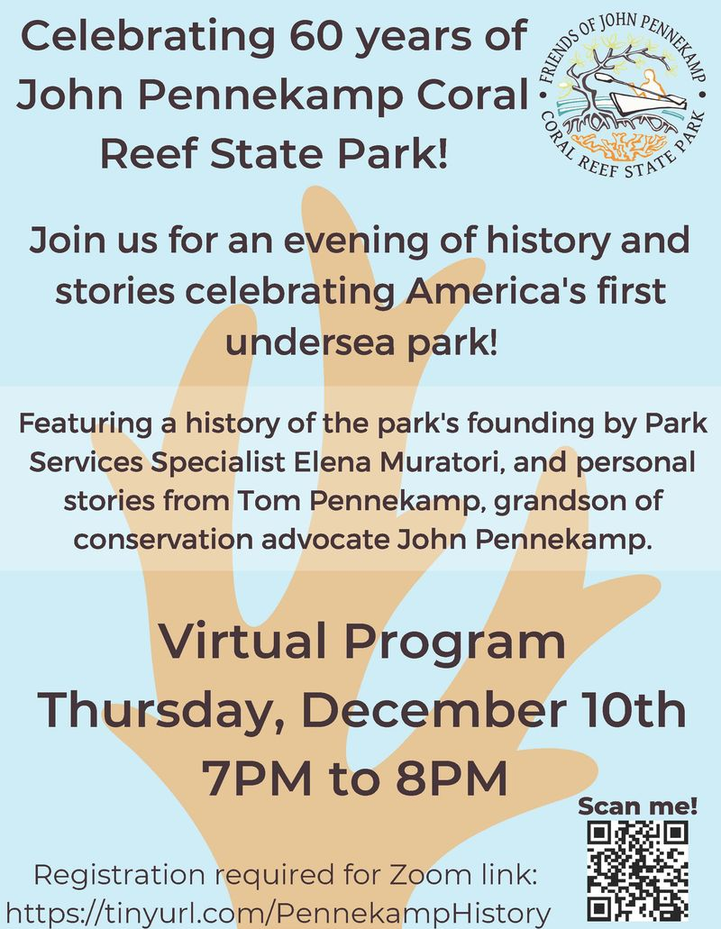 Image for Celebrate 60 Years of John Pennekamp Coral Reef State Park