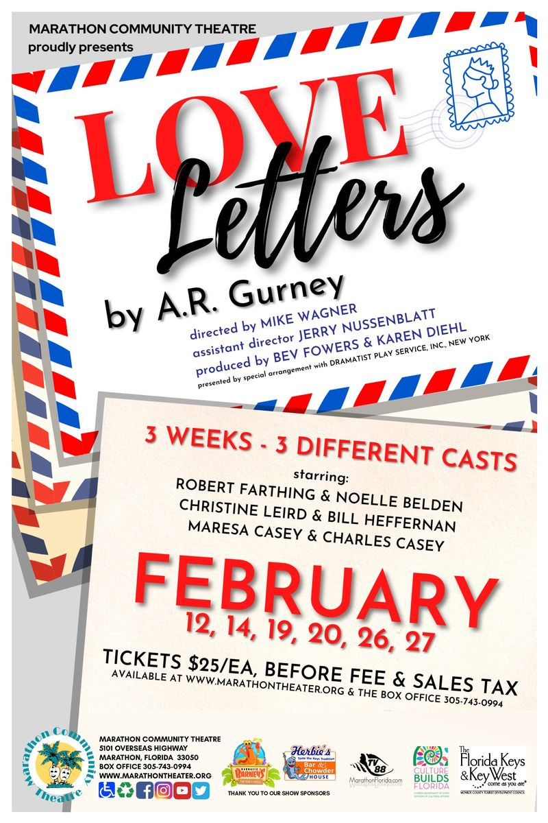 Image for Marathon Community Theater presents: Love Letters