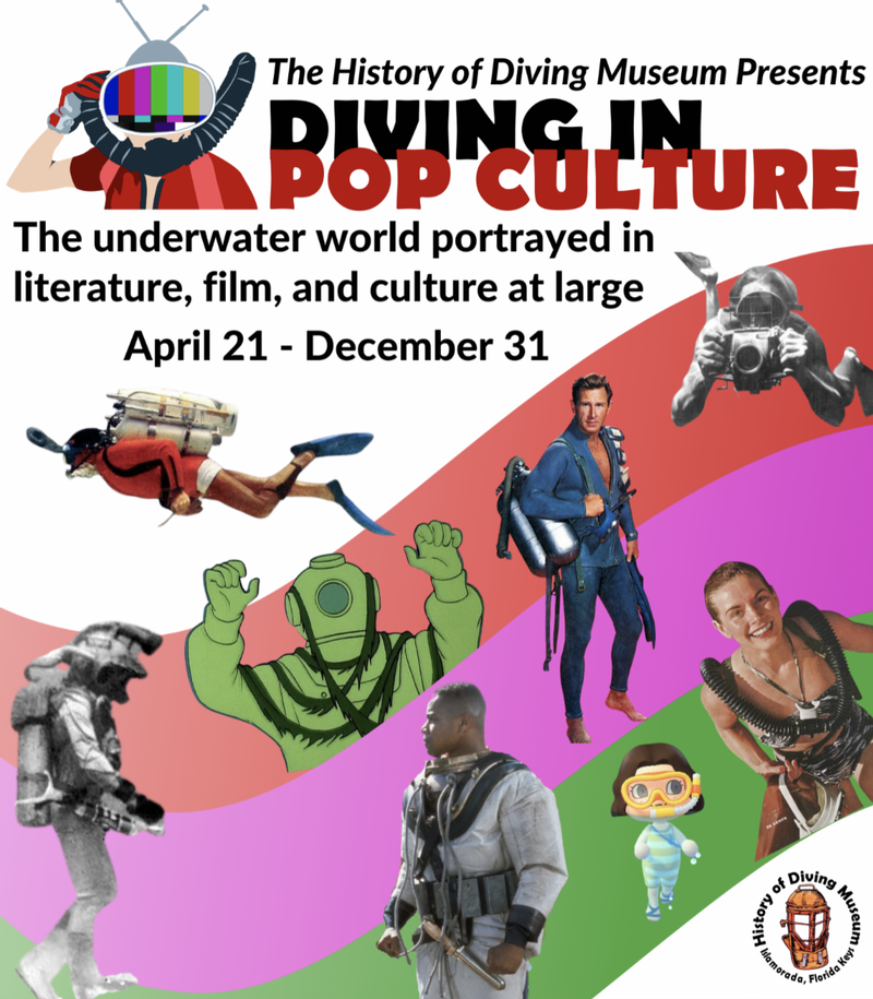 Image for History of Diving Museum Exhibit: Diving in Pop Culture