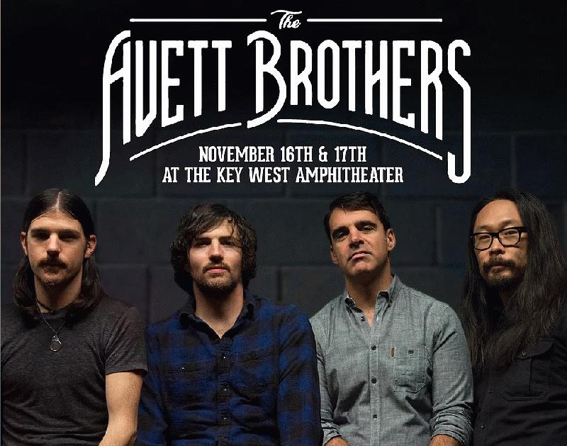 Image for The Avett Brothers at the Key West Amphitheater