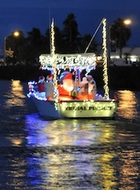 Image for Key Colony Beach Lighted Boat Parade