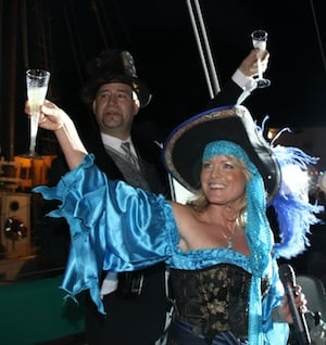 Image for New Year's Eve: Pirate Wench Drop at Schooner Wharf