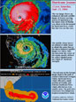 Images of Hurricane Jeanne, 2004