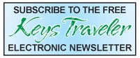 "Subscribe to the free ""Keys Traveler"" electronic newsletter"