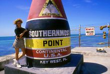 Southernmost Point in Key West, Florida