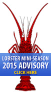 Lobster Mini-Season 2015 Advisory