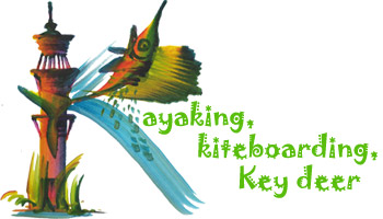 Kayaking, kiteboarding, Key deer