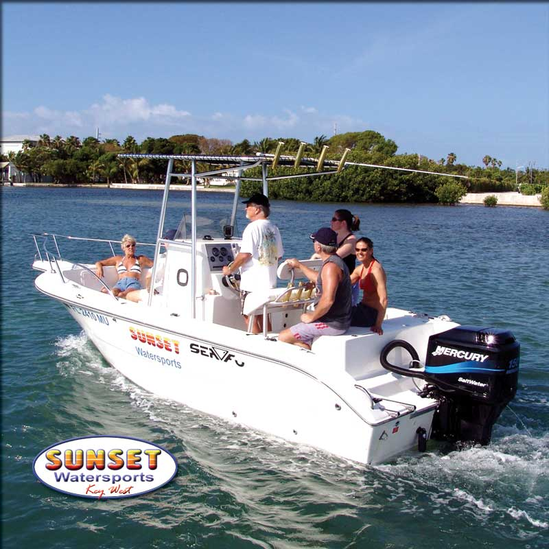 Sunset Watersports Boat Rentals LOWEST PRICE IN KEY WEST  - Image 2