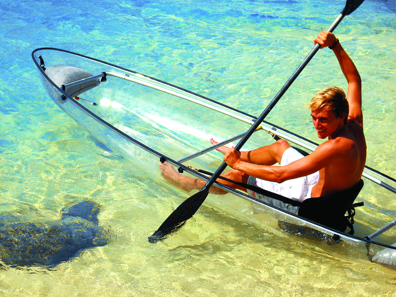 CLEARLY UNIQUE CHARTERS - CLEAR KAYAK AND SNORKELING ADVENTURES - Image 2