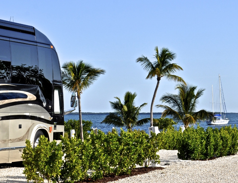 POINT OF VIEW ~ LUXURY WATERFRONT RV RESORT