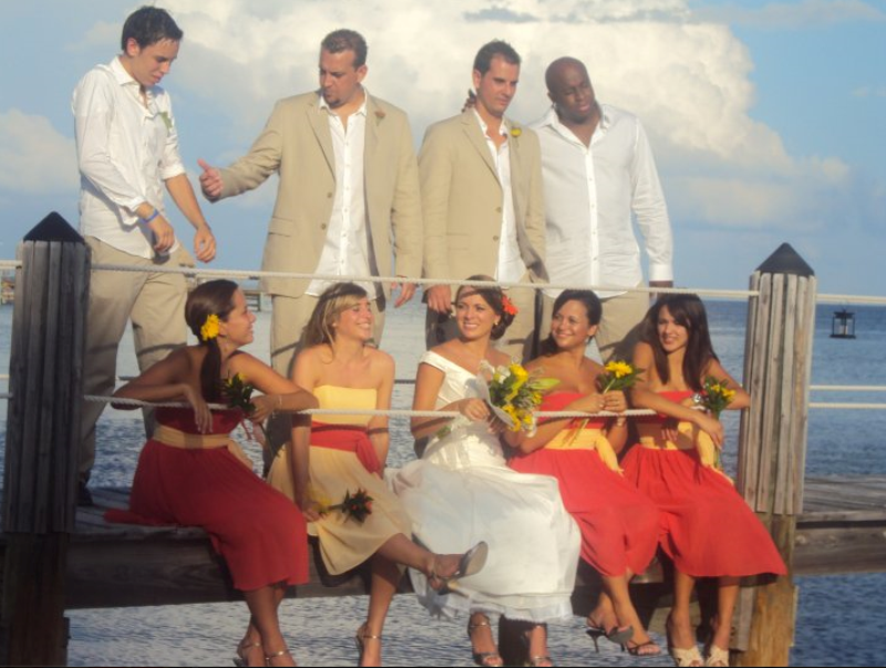 Plan your florida keys or key west wedding with the for 305 salon tavernier