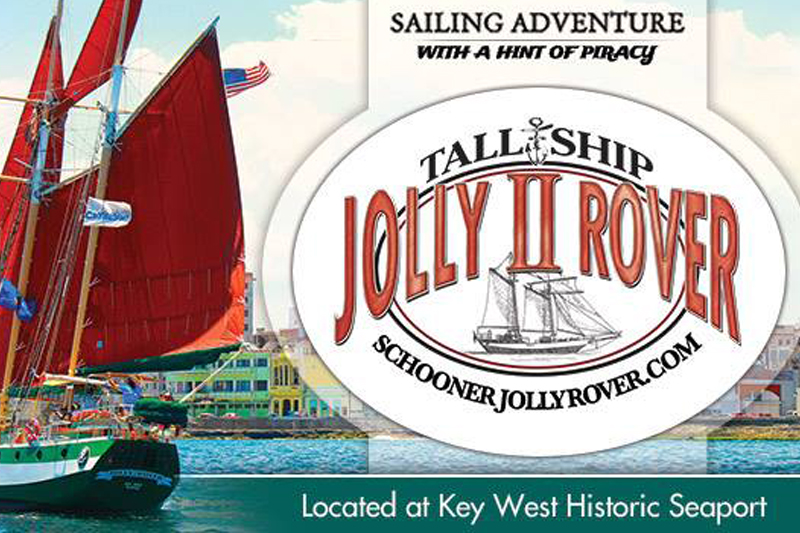 THE JOLLY ii ROVER - Traditional Key West Sailing Adventure! - Image 4