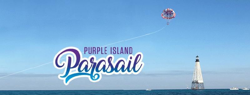 Purple Island Parasail - Image 1