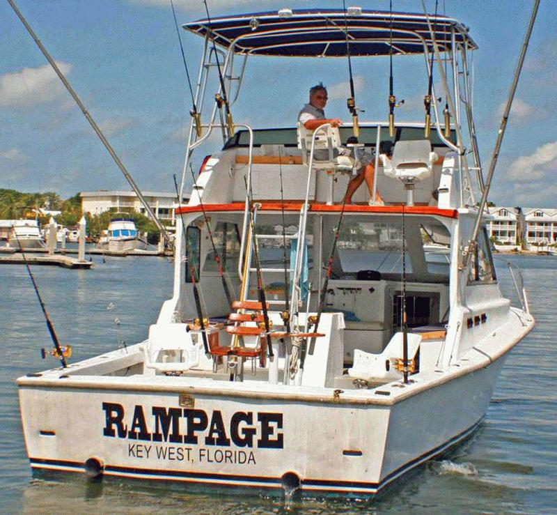 Find key west fishing party boats here at fla for Key west charter fishing