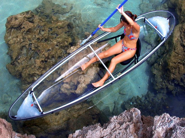 CLEARLY UNIQUE CHARTERS - CLEAR KAYAK AND SNORKELING ADVENTURES - Image 1