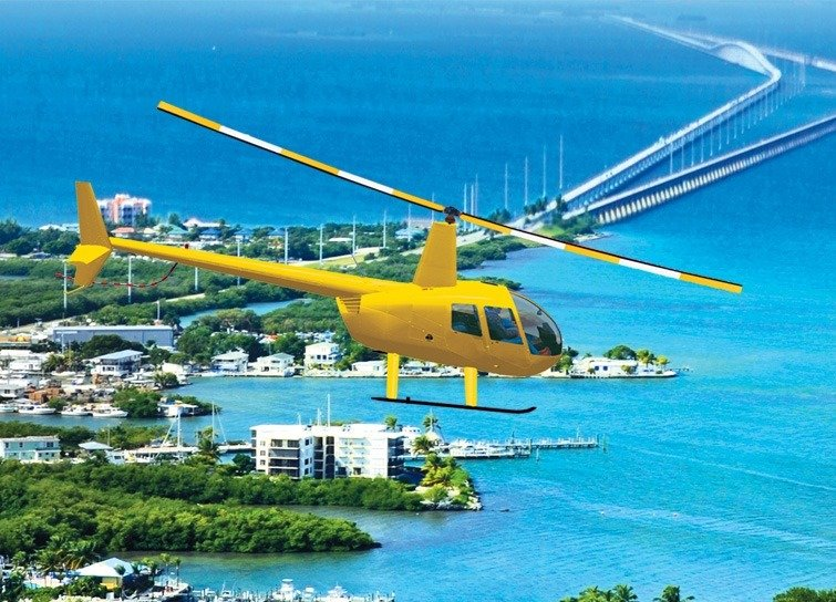 HELICOPTER TOURS OF THE FLORIDA KEYS