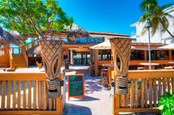 World Famous Tiki Bar at Postcard Inn Beach Resort & Marina