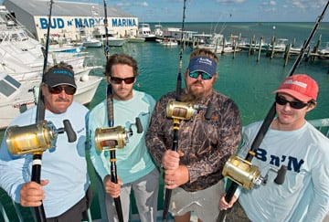 Florida Keys captains were cast in Reel Rivals