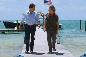 'Bloodline' actors Kyle Chandler (left) and Ben Mendelsohn
