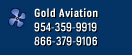 Gold Aviation - 954-359-9919 - 866-379-9106