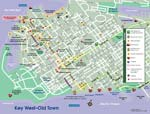 Key West Old Town Map