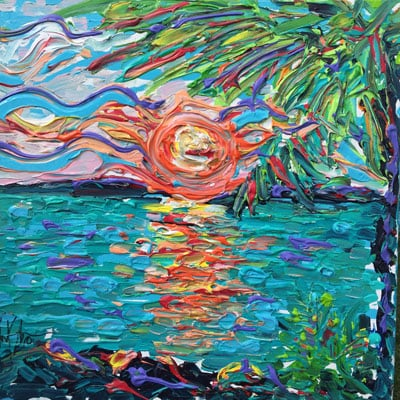 Noel Skiba: Sunset View in Paradise