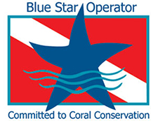 Blue Star Operator - Committed to Coral Conservation