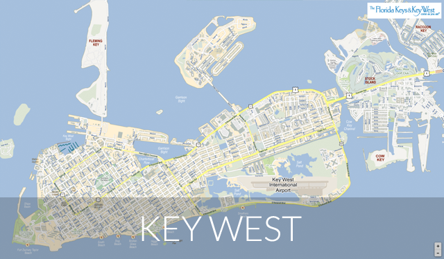 Key West map