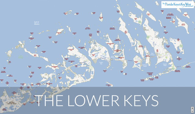 Lower Keys map