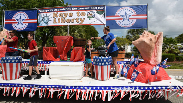 July 4 Festivities and Fireworks to Sparkle Throughout Florida Keys