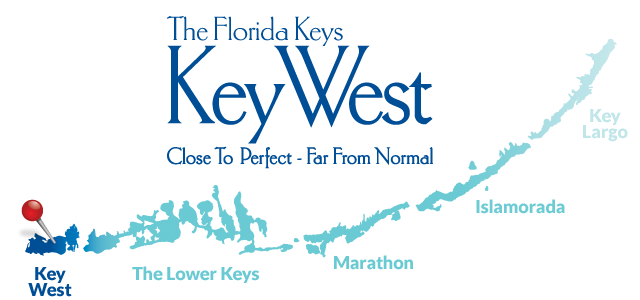 Key West on the map