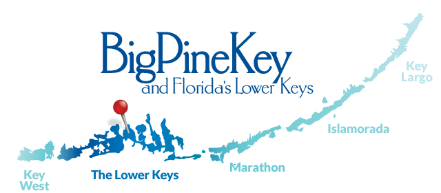 The Lower Keys on the map