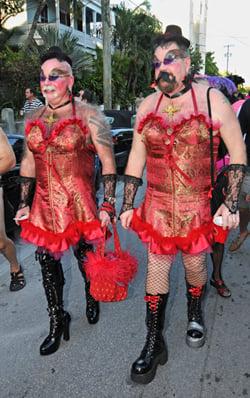 fantasy fest nude girls