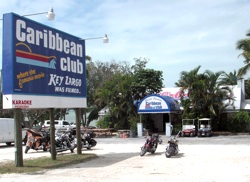 Key Largo's Caribbean Club is famed as a location for the 1948 movie classic that shares a name with the Keys' gateway island.
