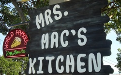 Mrs. Mac's Kitchen is rightfully renowned for its Key lime pie and other yummy homemade dishes.