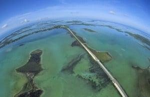 Florida Keys Overseas Highway aerial